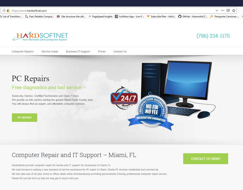 Computer Repair Price List Residential - Hardsoftnet